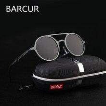Marca Designer Steampunk óculos de Sol Retro Feminino Polariza Óculos de  sol oculos de sol de Alumínio e magnésio Óculos De Sol . 6604df84aa