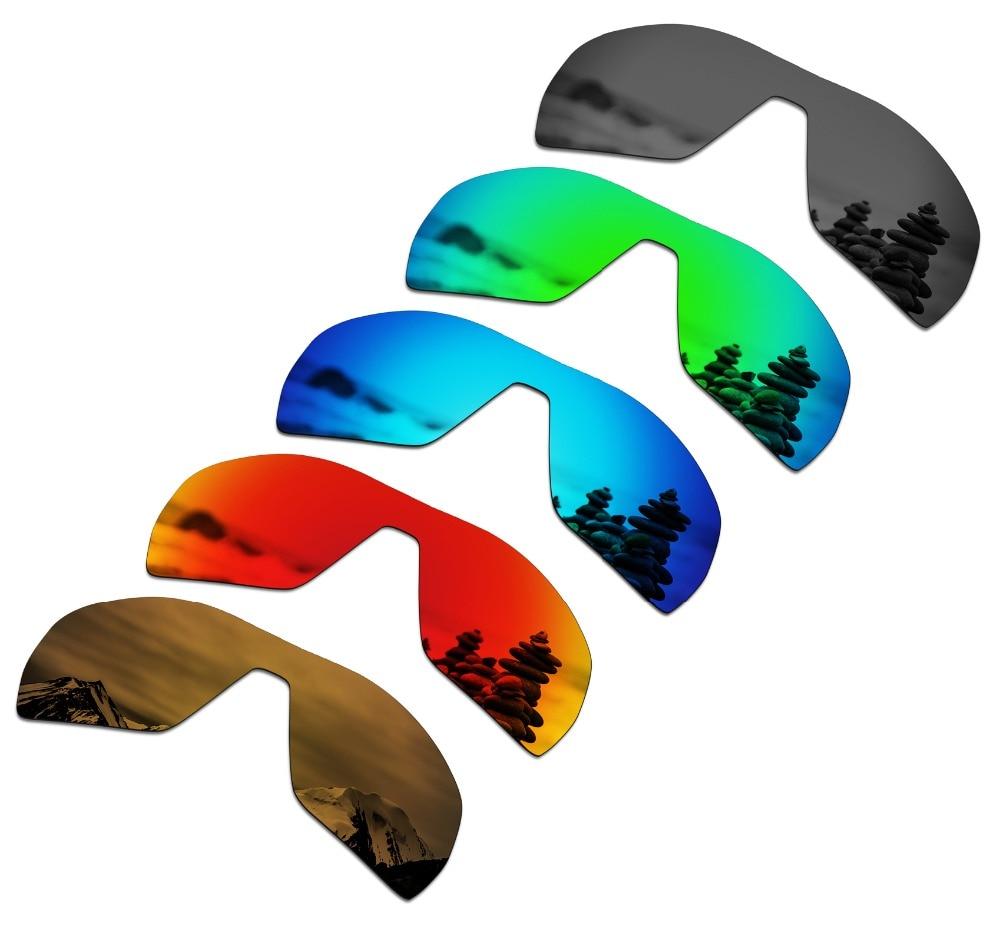 SmartVLT 5 Pieces Polarized Sunglasses Replacement Lenses For Oakley Offshoot - 5 Colors