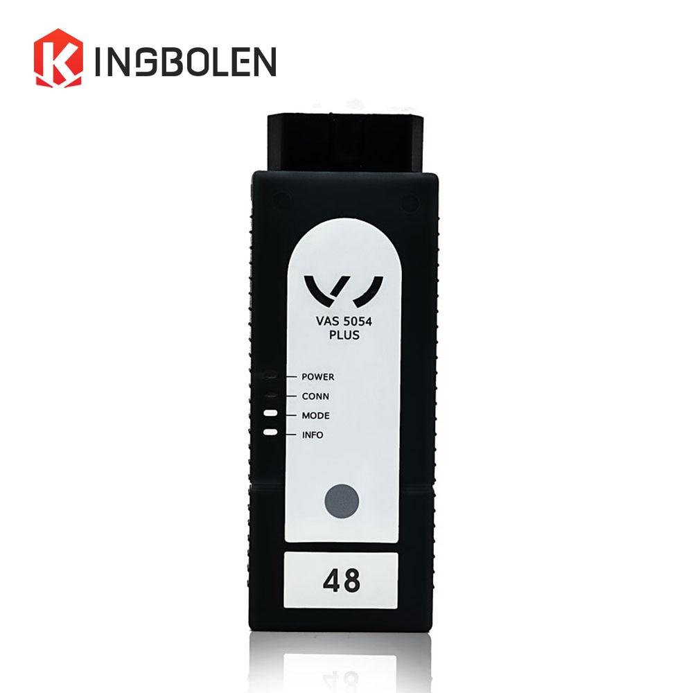 Цена за VAS5054 плюс OKI чип V4.1.3/V3.0.2 ODIS Bluetooth поддерживает протокол UDS VAS 5054 Плюс Полный Система Авто диагностический инструмент