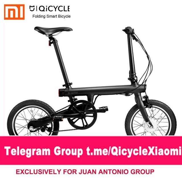 Xiaomi QiCYCLE-EF1 APP Control plegable bicicleta eléctrica envío gratis 100% sin impuestos exclusivo para JUAN ANTONIO QiCYCLE grupo