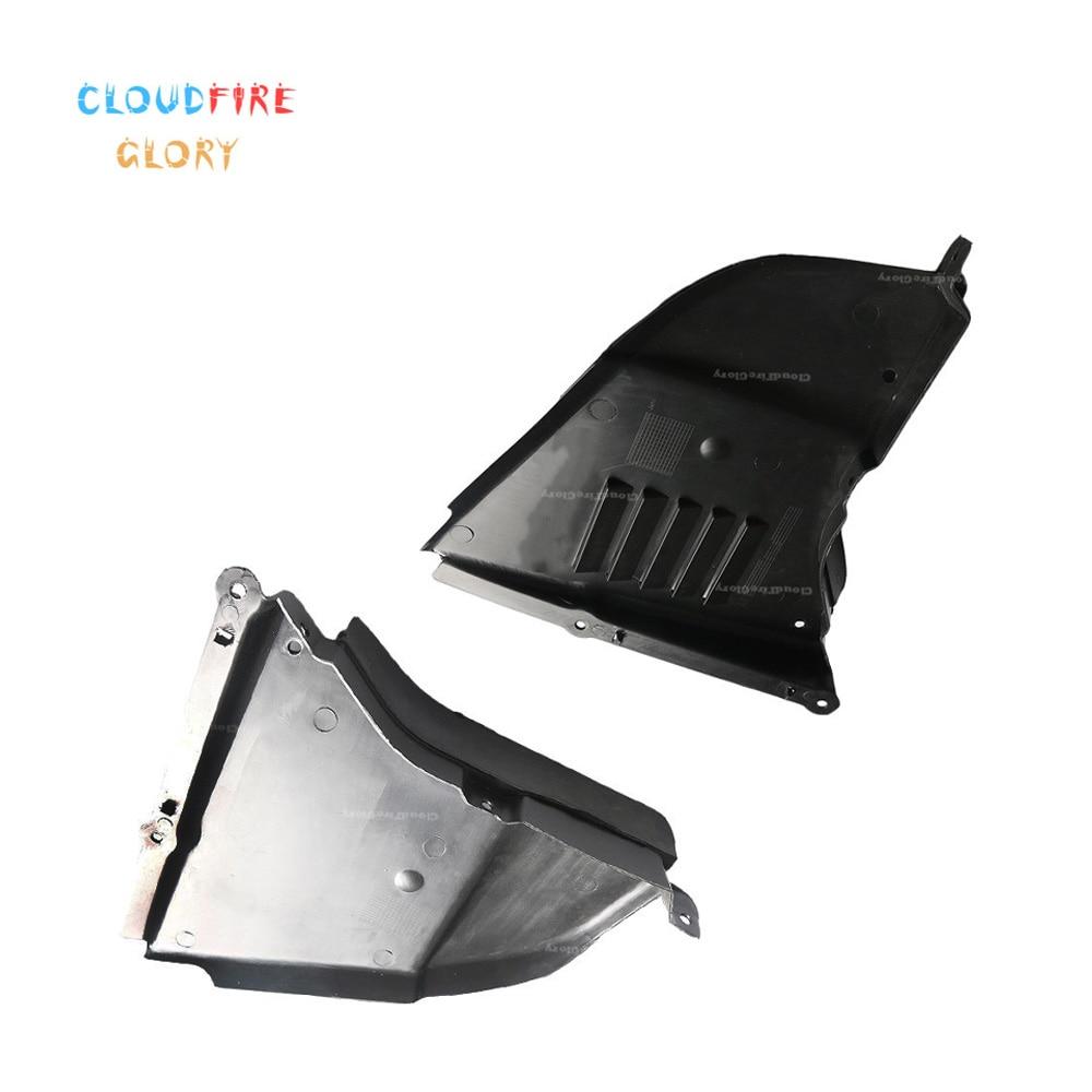Чехол для двигателя CloudFireGlory 51717033753 51717033754 LH RH, защита от брызг, нижняя крышка для BMW 5 серии 530i 2004-2007 550i 530xi 545i