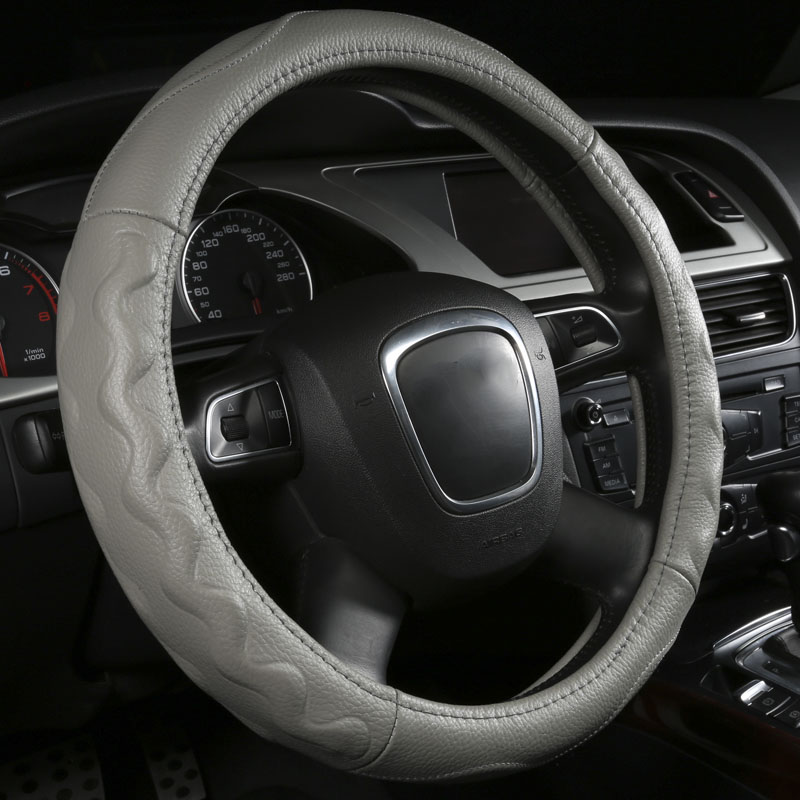 Genuine Leather Car Steering Wheel Cover For Mercedes Benz GLA 180 200 GLC ML320 GLS350d W221 W222 SL X204 X253 Auto Accessories