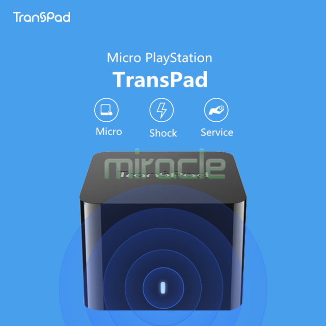 new arrival original Trans  Pad portable game console support android  iOS wireless transmission game box freee shipping