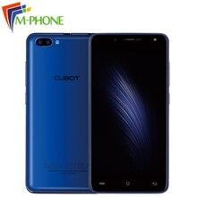 Cubot Радуга 2 Мобильный телефон 5.0 дюймов MTK6580A 4 ядра 1 ГБ Оперативная память 16 ГБ Встроенная память двойной камеры заднего сотовый телефон Android 7.0 смартфон