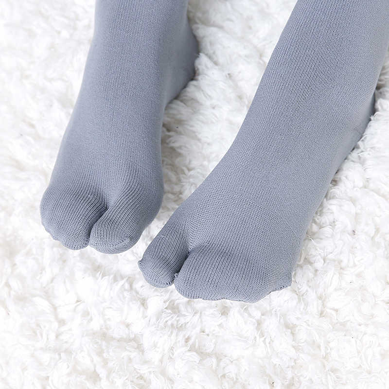 a600c2636e8 ... 3 Pairs lot Women Split Toe Running Stockings Nylon Long Socks Over  Knee-High ...