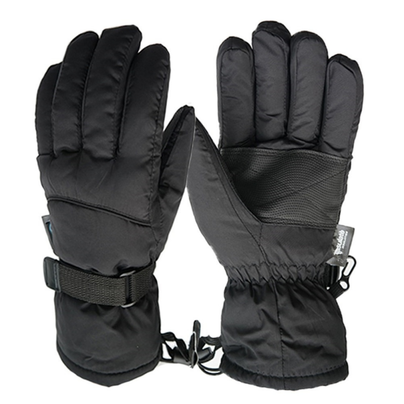 Winter Ski Sport Waterproof Gloves -30 Degree Warm Snowboard Skiing Gloves Riding Mittens Extended Wrist Skiing Gloves New