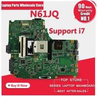 Free Shipping For ASUS N61JQ Laptop Motherboard Mainboard N61JQ N61JA I7 Cpu 100 Tested Guaranteed