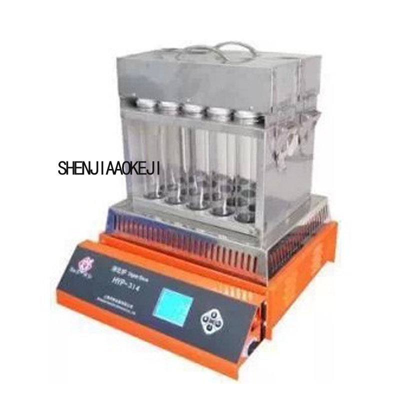 110/220V 1PC 20 holes Intelligent digestion furnace Boiler Aluminum ingots Over temperature double protection Protein tester