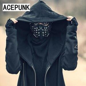 Image 2 - Классная мужская маска для косплея в стиле хип хоп, цвет черный