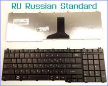Russo ru versão teclado para toshiba satellite l675 l675d L675D-S7107 L675D-S7014 L675D-S7015 L675D-S7047 portátil preto