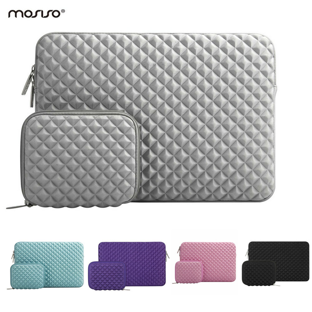 MOSISO Lycra Souple Laptop Sleeve 13.3 pouce Sac D'ordinateur Portable Cas pour Macbook Air 13 Nouveau Tactile Bar Retina Pro 13 ''HP/Dell Portable Sacs