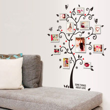 3D DIY Removable Photo Tree Pvc Wall Stickers Picture Frame Home Decor