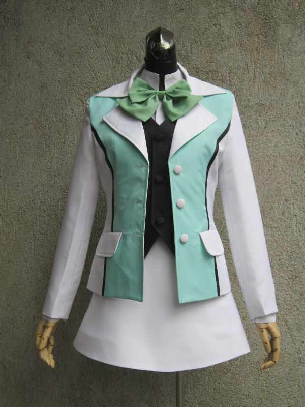 LOVE BULLET-YURI KUMA ARASHI Ginko Yurishiro Cos Clothing Costume Custom Made Free Shipping