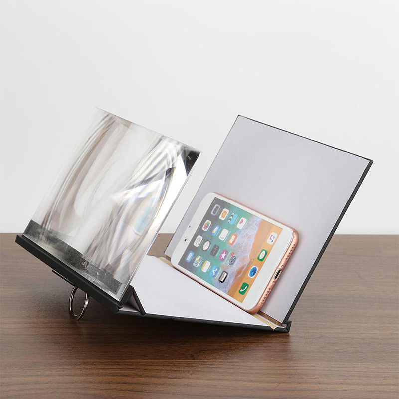 Text - 8 inch  Mobile Phone Screen Magnifier Stand