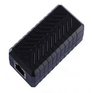 1-портовый удлинитель PEGATAH IEEE802.3af PoE для сетевой камеры, увеличивающее расстояние передачи до 120 м