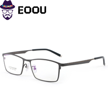 EOOUOOE 2019 Titanium Optical Glasse Frame Eyeglass Oculos Eyewear Gafas optik glasses for men cadre lunettes optique homme