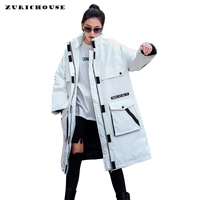 Womens Cotton Padded Jacket Winter Cold Protection Clothes 2019 New Arrival Oversized Long Jacket Women Winter Coat Female Parka