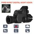 PARD NV007 Digital caza noche visión cámaras 5 w DIY/IR/de la visión nocturna infrarroja de Riflescope 200 M de noche Rifle óptico