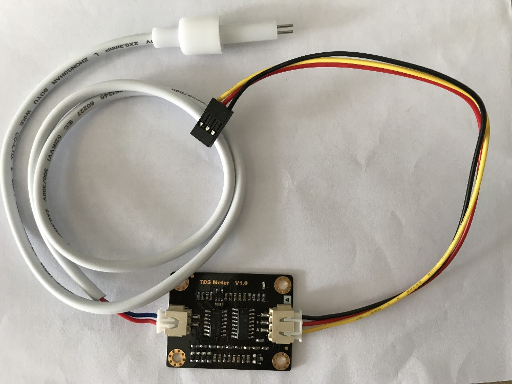 Simulated TDS Sensor Water Conductivity Sensor Compatible with Liquid Detection Water Quality Monitoring 3.3~5.5V
