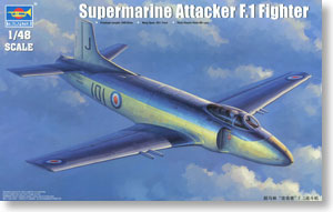 ФОТО Royal trumpeter 1:48 throughout the British super marin &;The attacker & throughout;F. 1 aircraft 02866