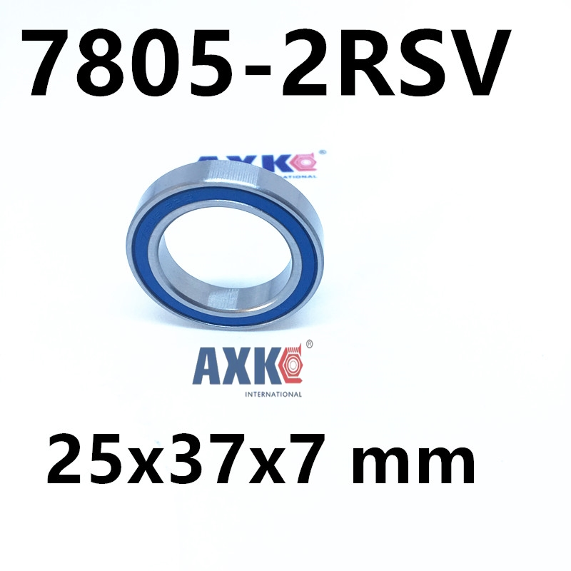 7805-2RSV 7805 angular contact ball bearing 25x37x7 mm for FSA Mega Exo Raceface Shimano Token BB70 Raceface bottom brackets kb035cpo sb035cpo prb035 radial contact ball bearing size 88 9 104 775 7 938mm