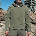 Military Men Fleece Tactical Softshell Jacket Outdwear Polartec Thermal  Polar Hooded Coat Men Outerwear Clothes 88