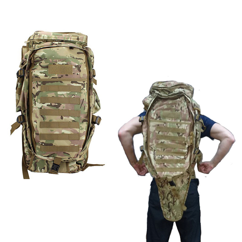 где купить Men's Military Tactical Pack Outdoor Hunting Backpack Rifle Carry Tactical Bag Gun Protection Case Backpacks по лучшей цене