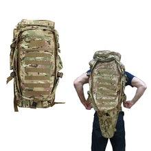 Męska Wojskowe Taktyczne Paczka Odkryty Polowanie Przypadku Ochrony Plecaki Plecak Torba Carry Tactical Rifle Gun