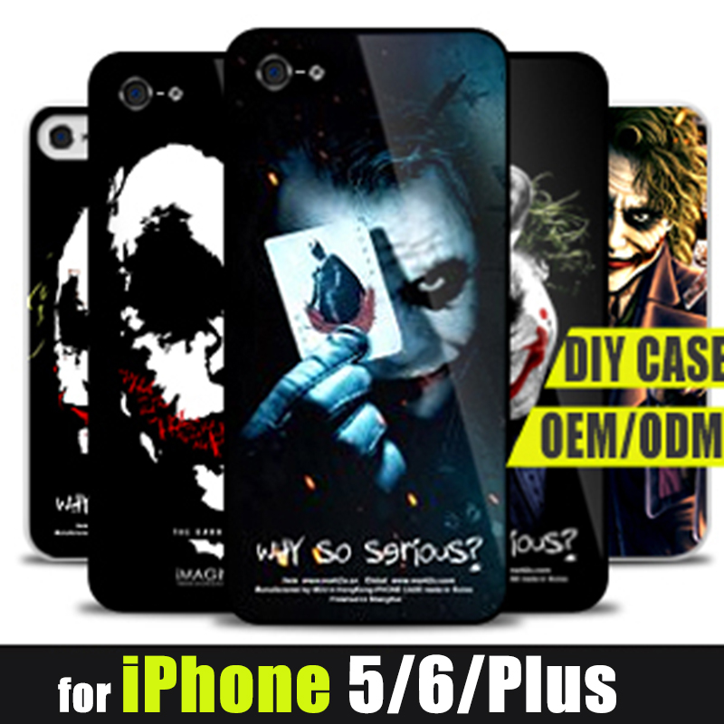 Hot Dark Knight Poker Joker Jack Phone case for fundas iPhone 5s 5 6 6s back cover fundas 6 Designs