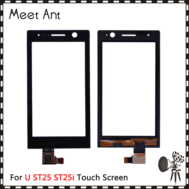 High Quality 3.5 For Sony Ericsson Xperia U ST25 ST25i Touch Screen Digitizer Front Glass Lens Sensor Panel