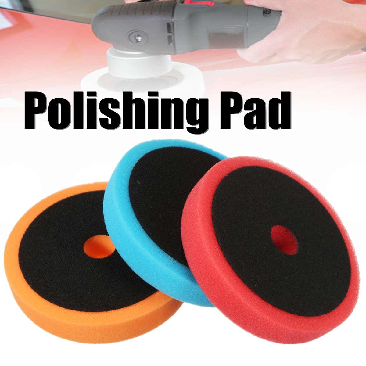 6 Inch 150mm Polishing Pad Buffing Pads Sponge Auto Car Polishing Pad For Car Polisher Buffer