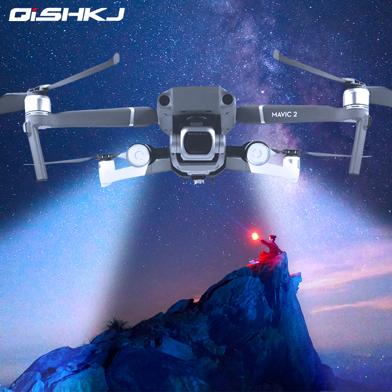 Night Flight LED Lighting Kit for DJI Mavic 2 Pro Zoom Direction Navigation Spot Light Headlight Drone Accessories