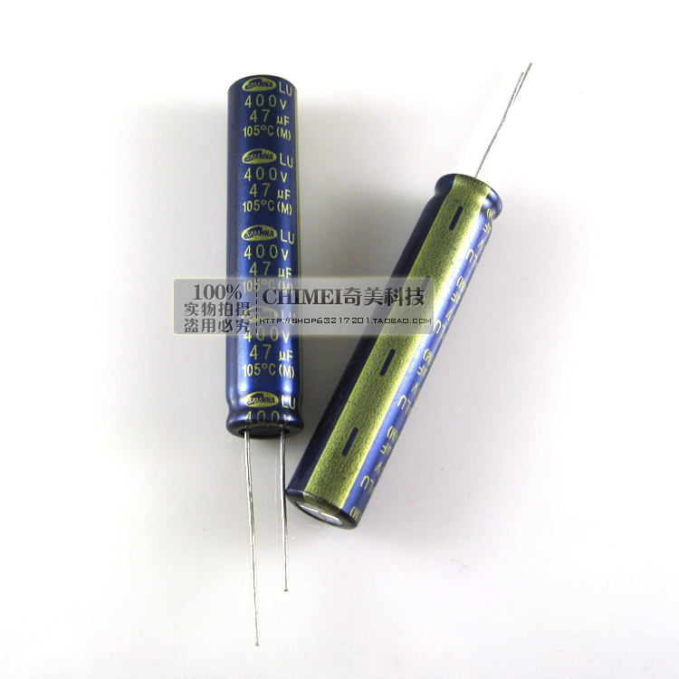 Electrolytic Capacitor 400V 47UF LED LCD Capacitor Accessories
