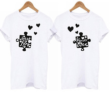 Cute Best Friends Printed T-Shirts