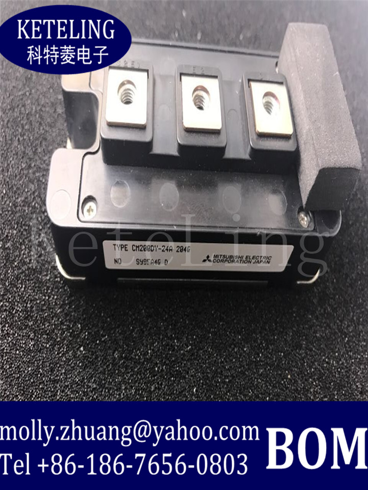 10PCS/LOTS 100%New and original CM200DY-24A Power module cm100dy 24a cm200dy 24a cm200dy 12nf 200a1200v igbt modules