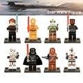Один продаж Legoingly Звездные войны Чубакка Дарт Мол Дарт Вейдер охотник за головами C3PO Sandtrooper строительные блоки Starwars игрушки - фото
