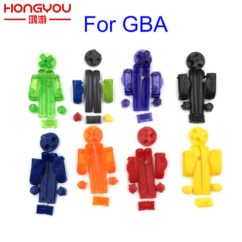 Multi-Color Replacement Buttons Keypads L R A B Buttons For Gameboy Advance Buttons Frame For GBA D Pads Power ON OFF Buttons holika holika 02 8