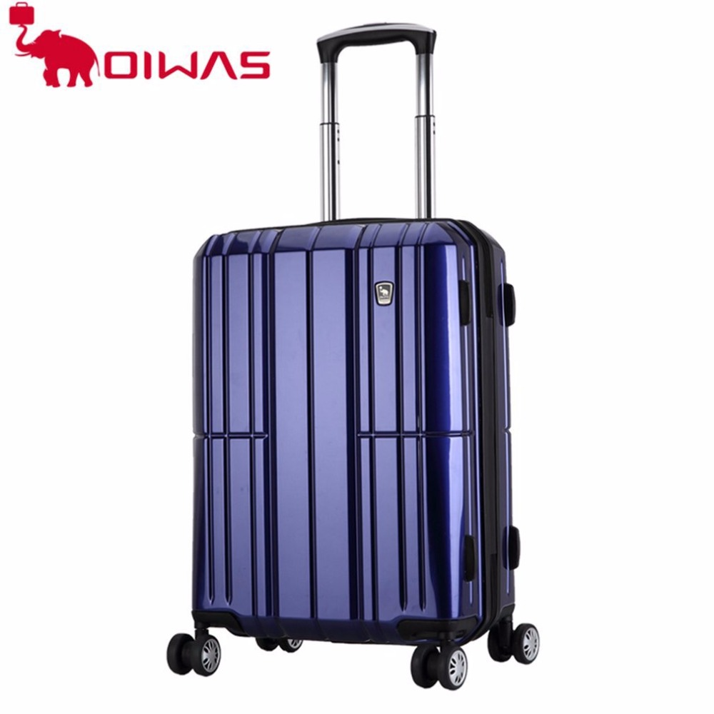 OIWAS OCX6176-24 Large Capacity Travel Suitcase Trolley Case 24 inch Business Trip Luggage Universal Wheels Rolling Bag oiwas top brand suitcase rolling luggage bag trolley 24 inch maletas spinner wheel customs lock business travel large capacity