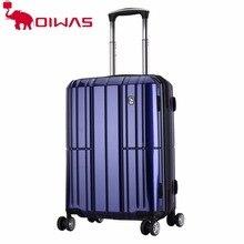 OCX6176-24 OIWAS Grande Capacidade bolsa de Viagem Viagem de Negócios Bagagem Rodas Universais Mala Trolley 24 polegada Saco Rolando
