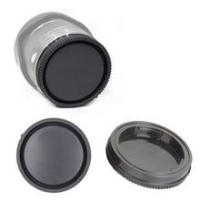 10 חתיכות מצלמה אחורי מכסה עדשה עבור Sony NEX NEX 3 E הר