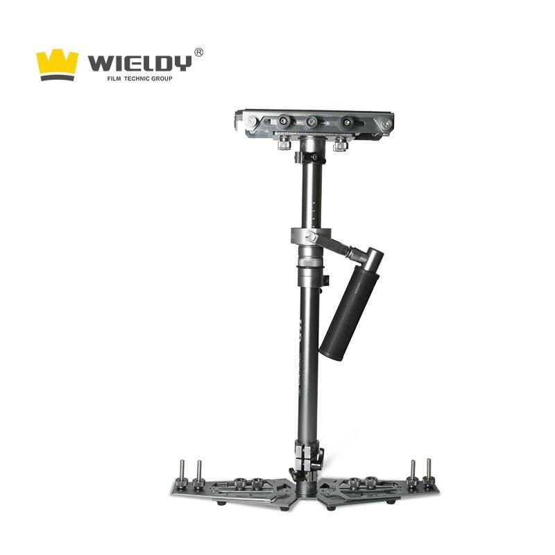 Stabilisateur de caméra portable en fibre de carbone HD 2000 S 1-5 kg