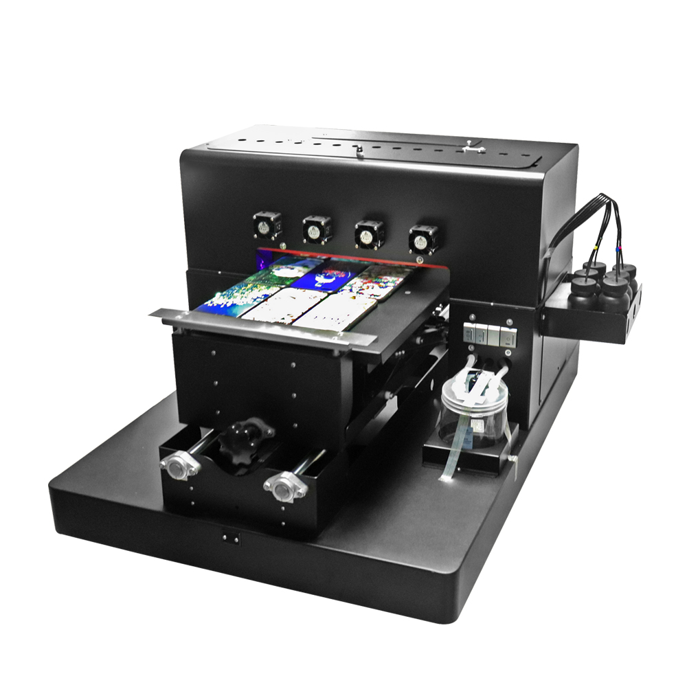 2019 A3 UV Flatbed Printer 6-color UV Print Machine with emboss - Office Electronics - Photo 3