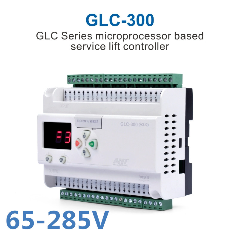 Dumbwaiter Microcomputer Controller GLC-300 65-440V Debris Staircase PLC Processor Freight