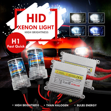 Modifygt H1 35w AC 12V Xenon HID Kit H4 H7 car styling Car Light Headlight 6000K 4300K 8000K yellow white pure white bule white