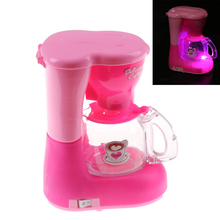 Schöne Rosa Mädchen Küche Spielzeug Kaffeemaschine Kinder Küche Spielzeug  Pädagogisches Pretend Spielen Spielzeug Küche Für Mädc..