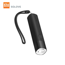 SOLOVE X3S 3000mAh Power Bank USB Rechargeable Brightness EDC Flashlight Portable Mini LED Torch for Outdoor Bike