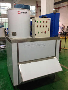 1T ice flakes making machine , 380v/50hz commercial flakes machine for sale