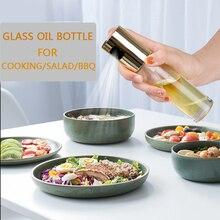 Стекло Распылитель оливкового масла масло спрей пустая бутылка для уксуса диспенсер для пособия по кулинарии салат принадлежности для шашлыков Кухня инструмент