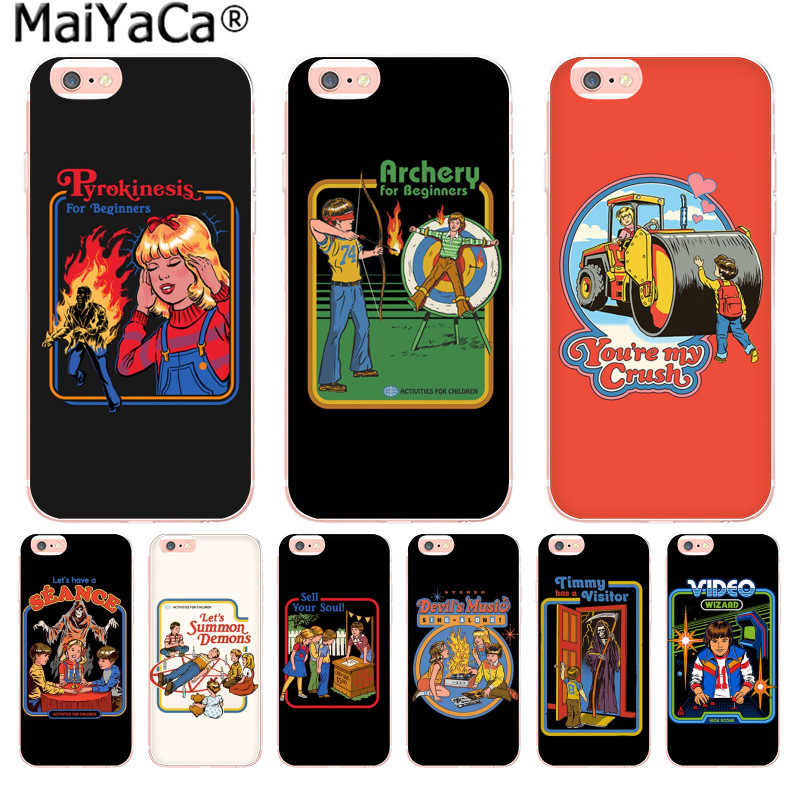 MaiYaCa Humor 70s Artwork by Steven Rhodes Newest Fashion phone case for iphone 11 pro 8 7 66S Plus X 10 5S SE XR XS XS MAX