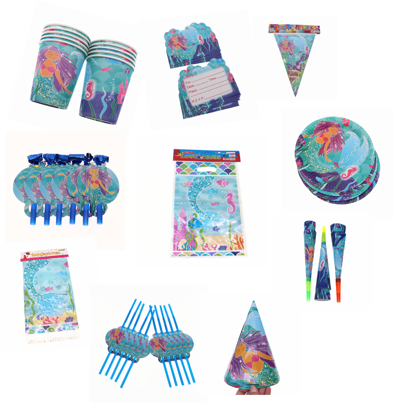 Handyman Construction Theme Birthday Party Supplies Set Plates Cups Napkins Tableware Kit for 16 Guests by PCBS
